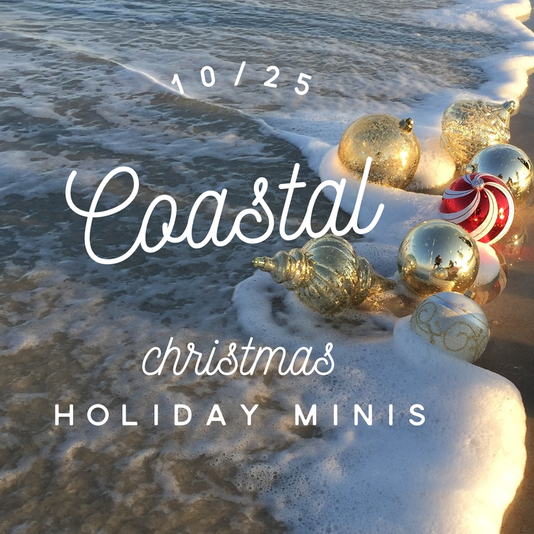 Image of 10/25 Coastal Christmas Holiday Mini (booking deposit)