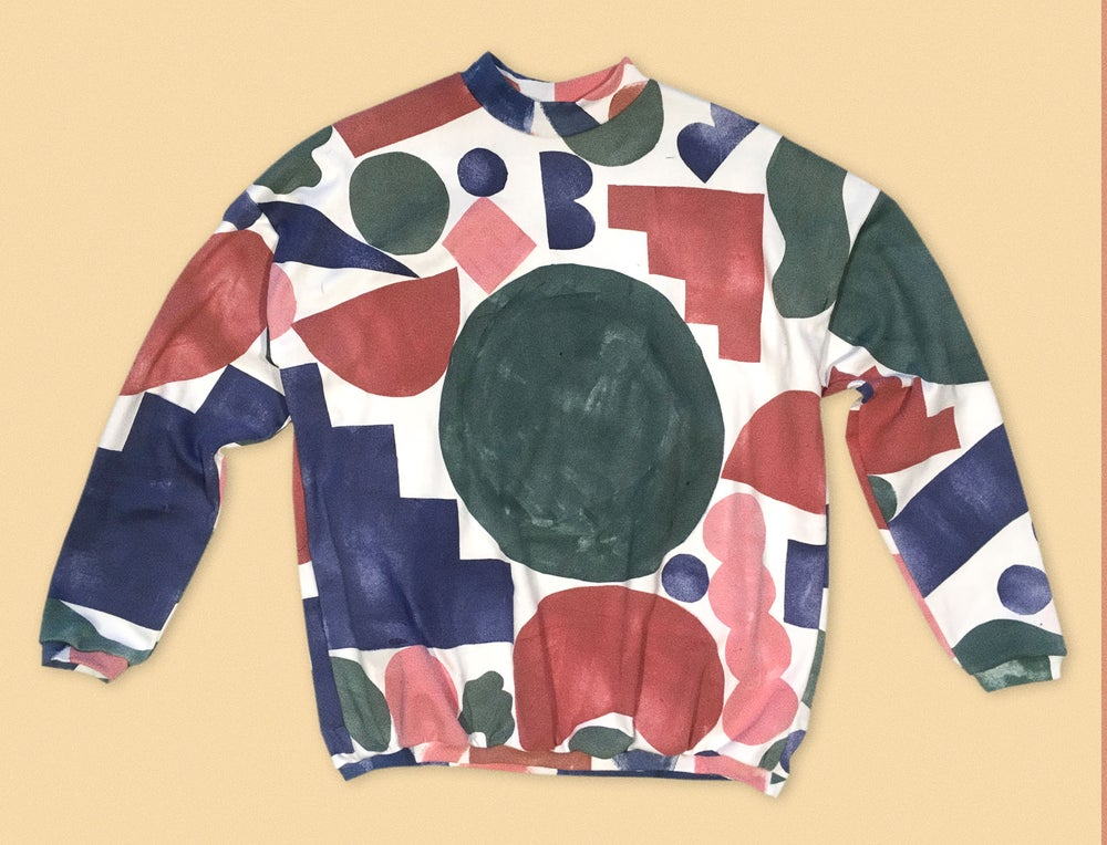 Image of COLOR SHAPES SWEATSHIRT