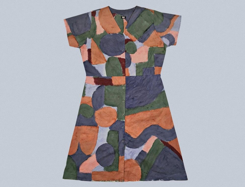 Image of COLOR PAINT DRESSES