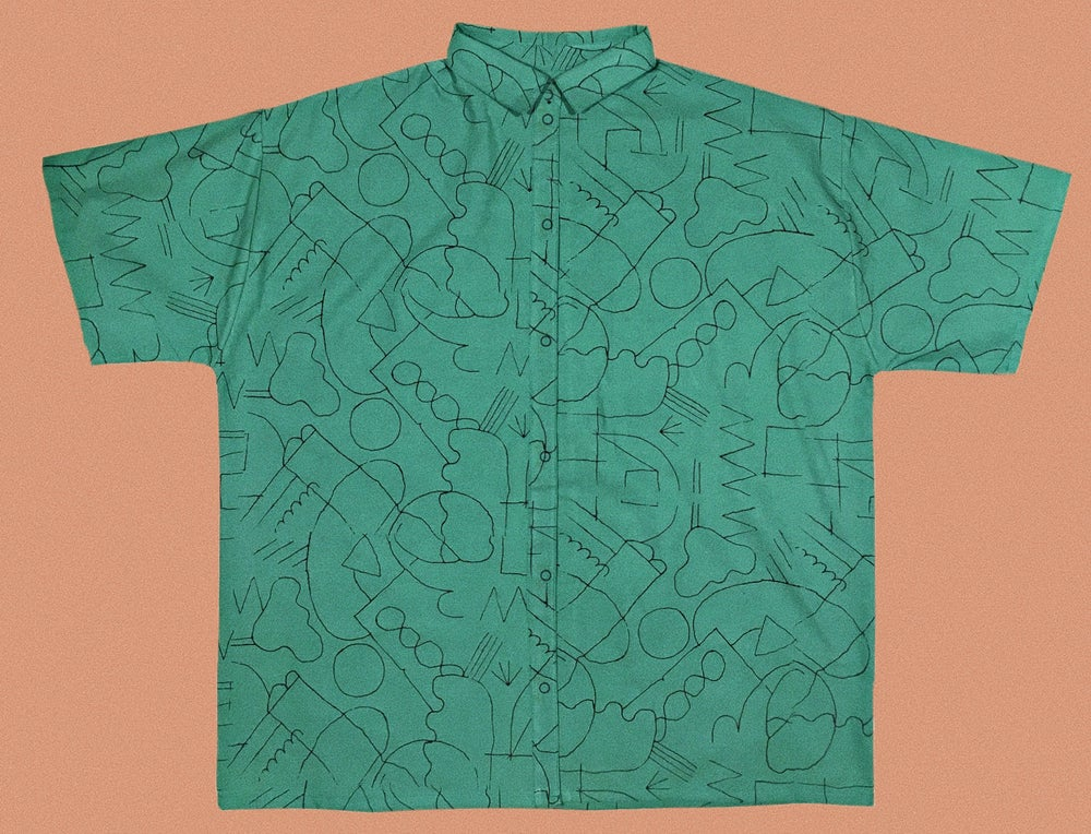 Image of LINE DRAWING SHIRT