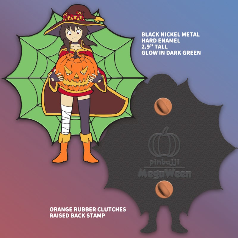 Image of MeguWeen Pin