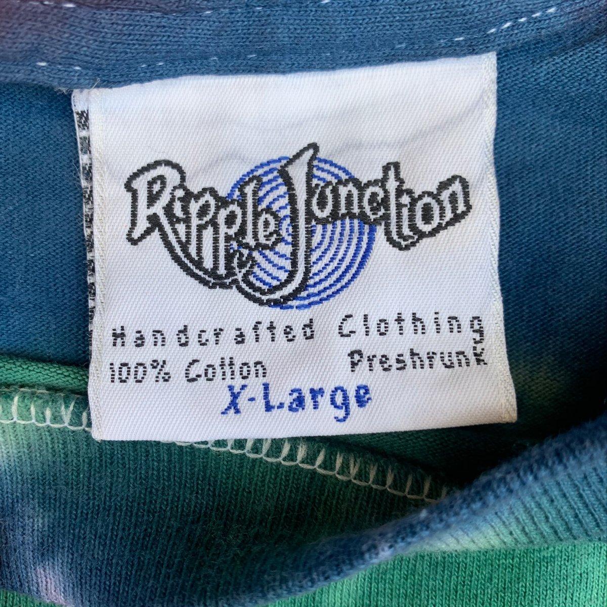 Original Vintage Ripple Junction 1994 Ganja Frogs Long Sleeve Tee!  X-LARGE