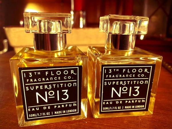 Image of Superstition No. 13 Unisex Eau De Parfum 2 bottle combo