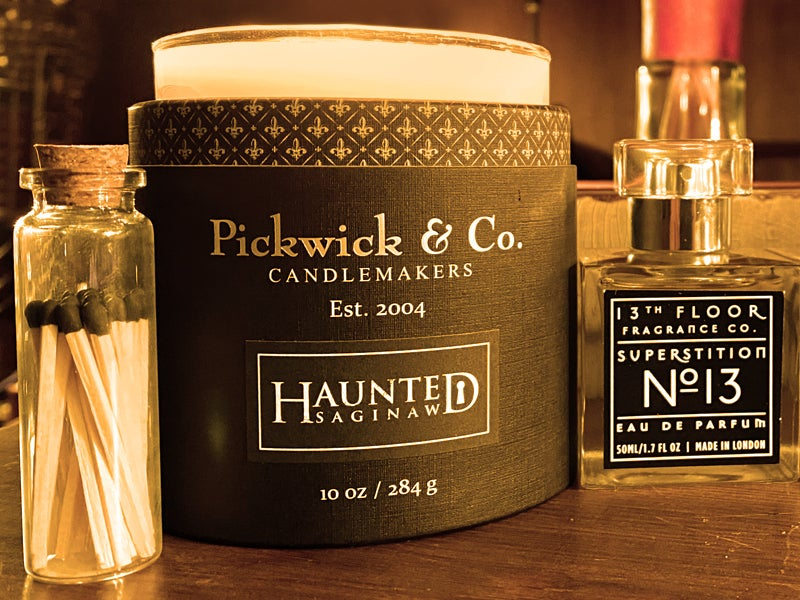 Image of The Haunted Saginaw Candle & Superstition No. 13 Unisex Fragrance