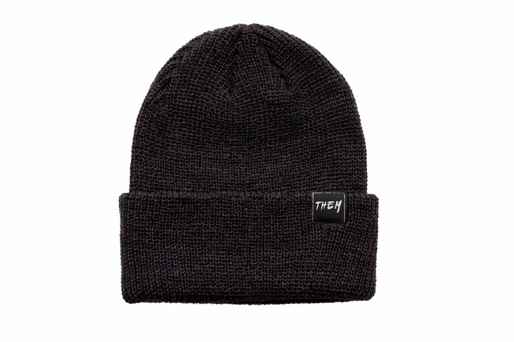 Image of Basic Beanie - Charcoal Grey