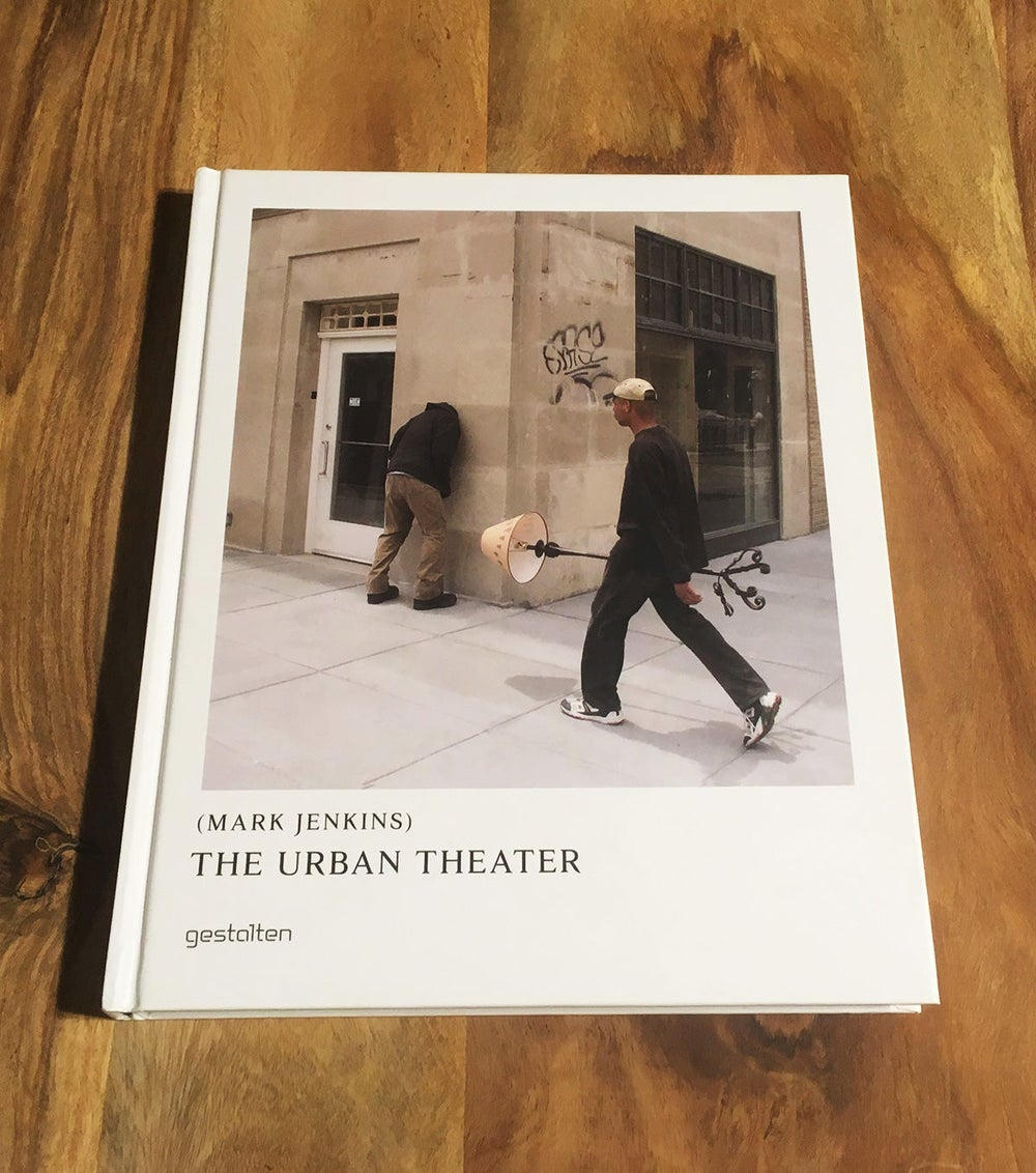Image of Mark Jenkins - Signed - The Urban Theater Book
