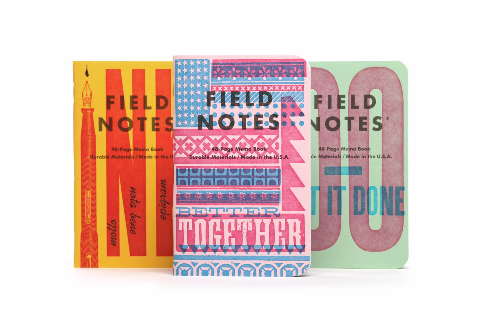 Image of Field Notes United States of Letterpress