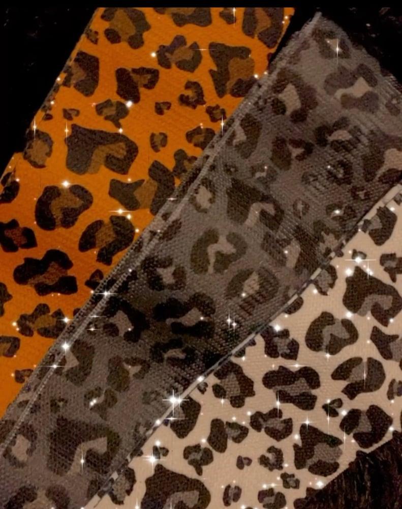 Image of Leopard resistance band