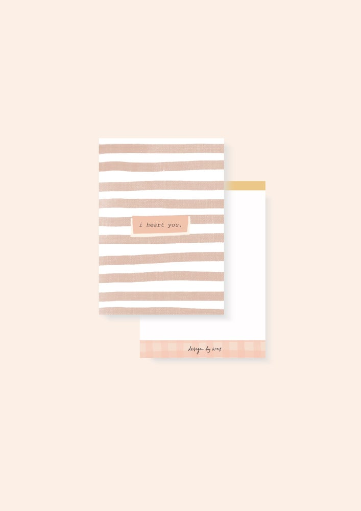 Image of Stripes Card