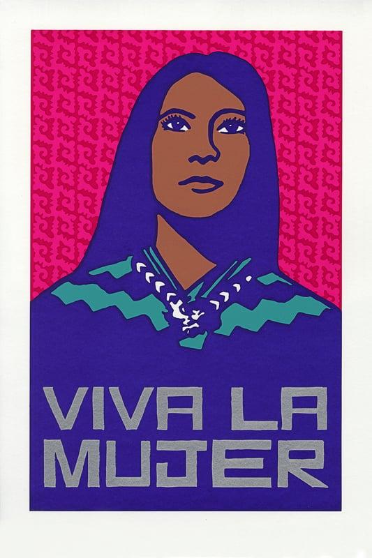 """""""Viva La Mujer"""" (2020) by Melanie Cervantes of Dignidad Rebelde"""