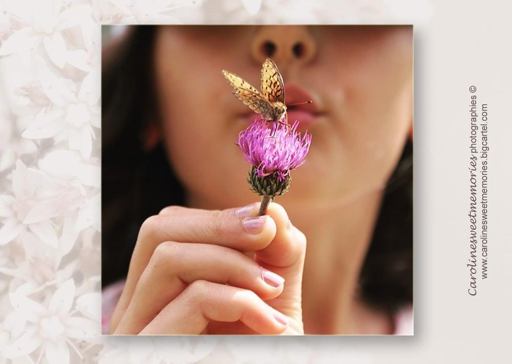 Image of Le papillon | carte postale