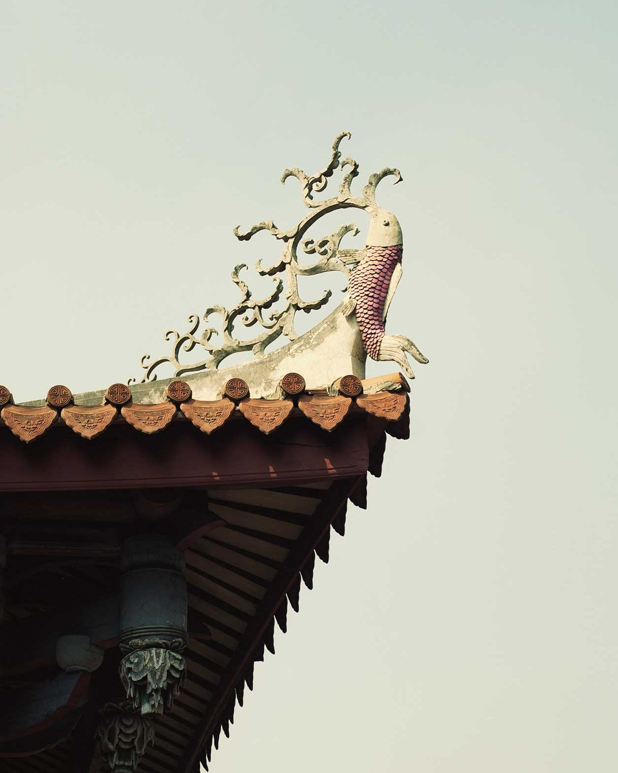 Image of Taiwan Roof Detail