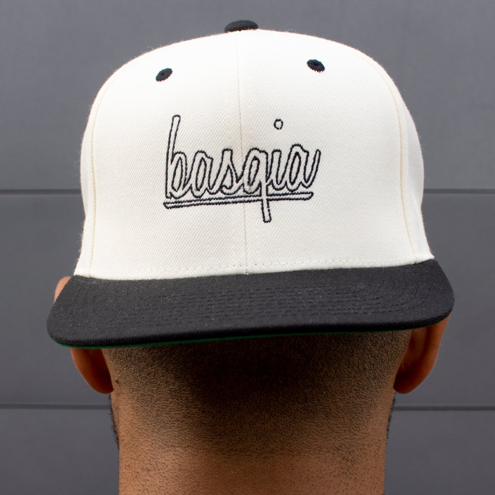 "Image of ""Black/White Logo"" Snapback"