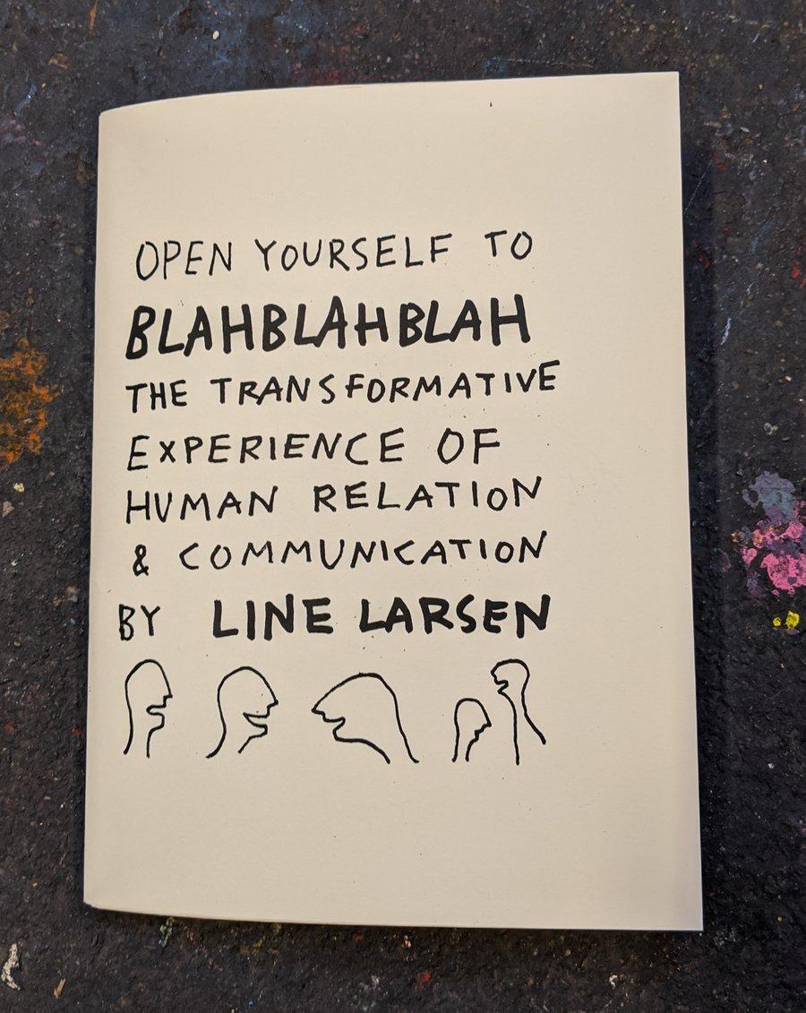 Image of Open Yourself to Blah Blah Blah....book