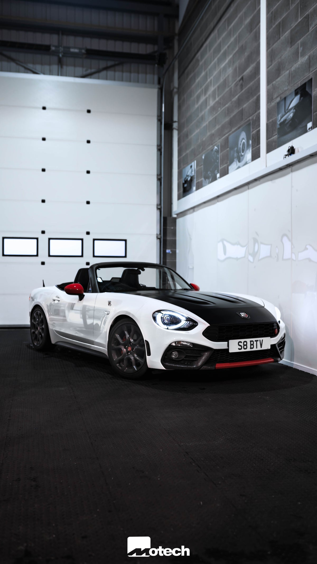 Image of Fiat Abarth 124 Spider Lowering Springs