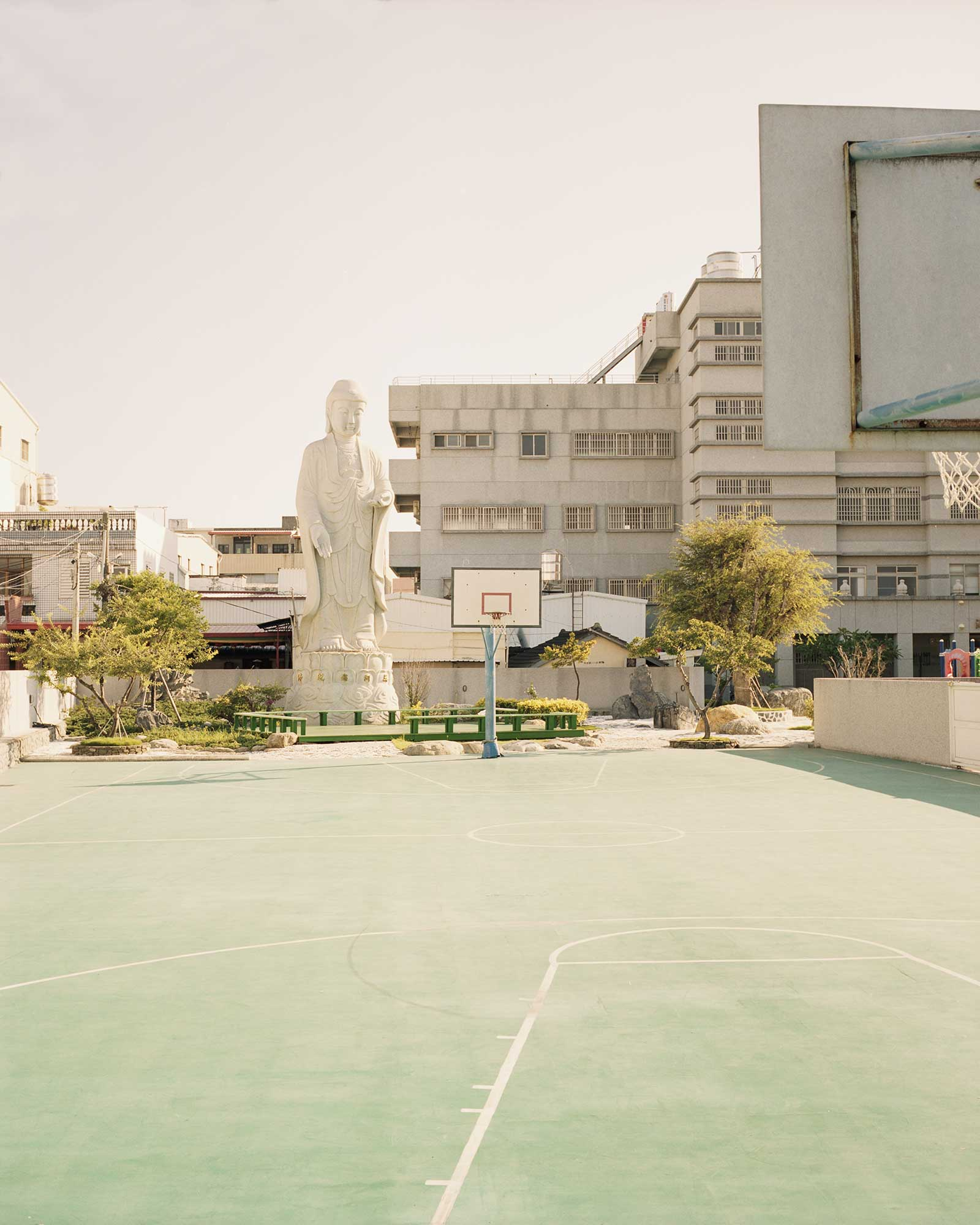 Image of Basketball Court in Taiwan