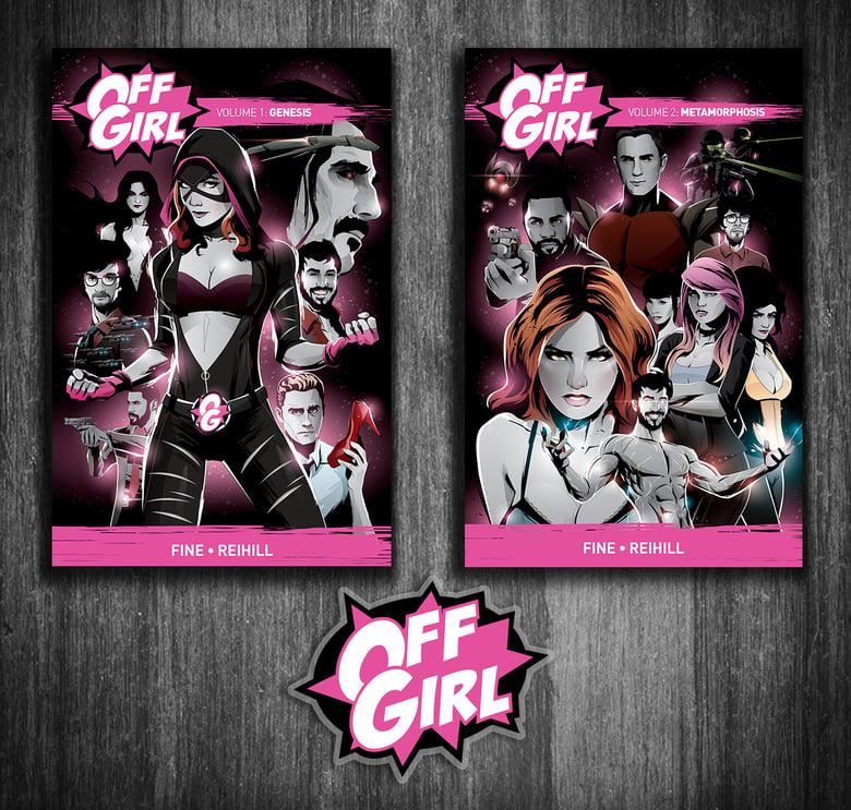 Image of Off Girl TPB Set