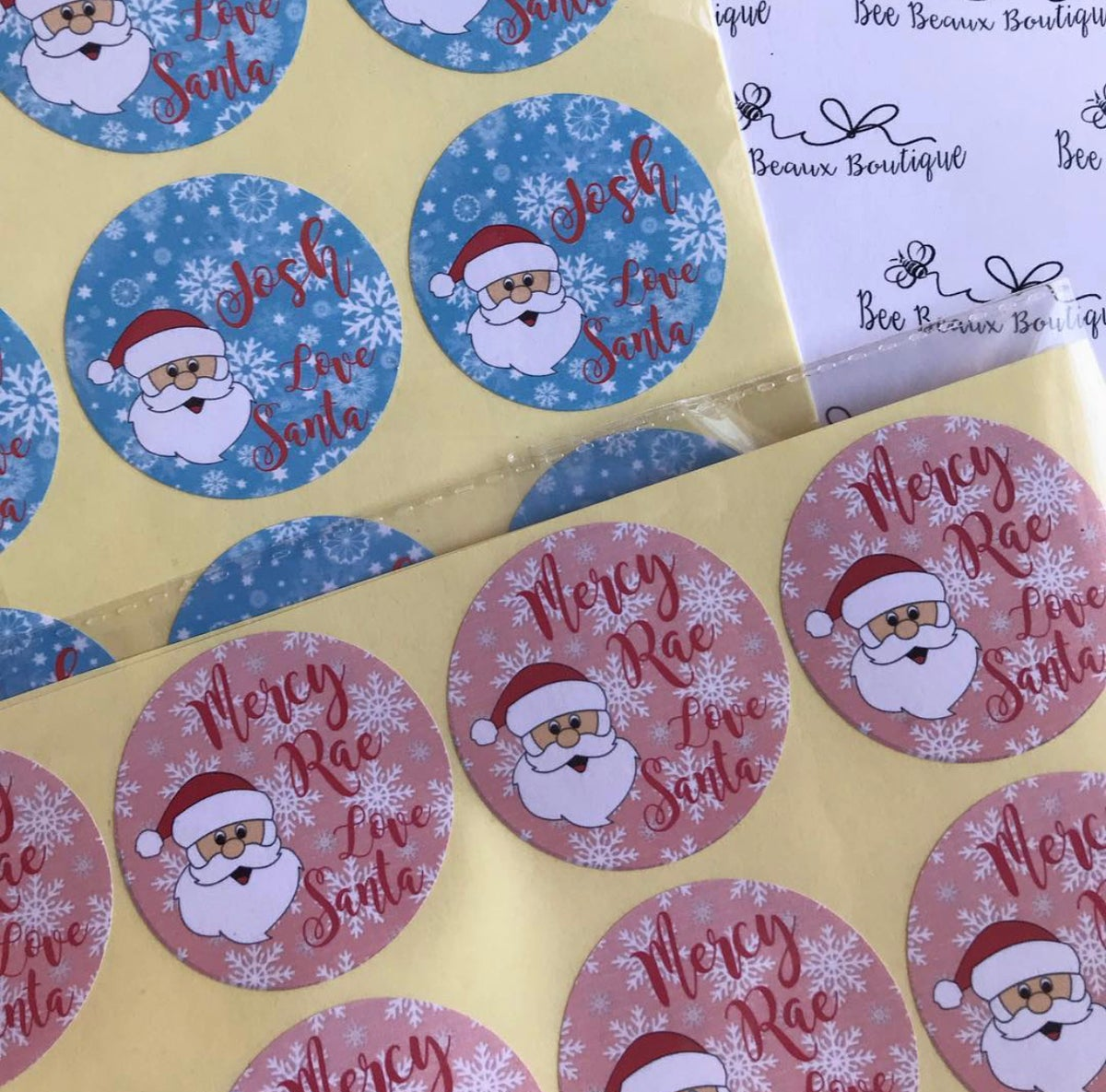 Image of Christmas Stickers