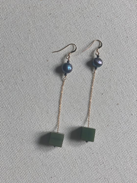 Image of Armegreia - Boucles d'oreilles - 14 carats