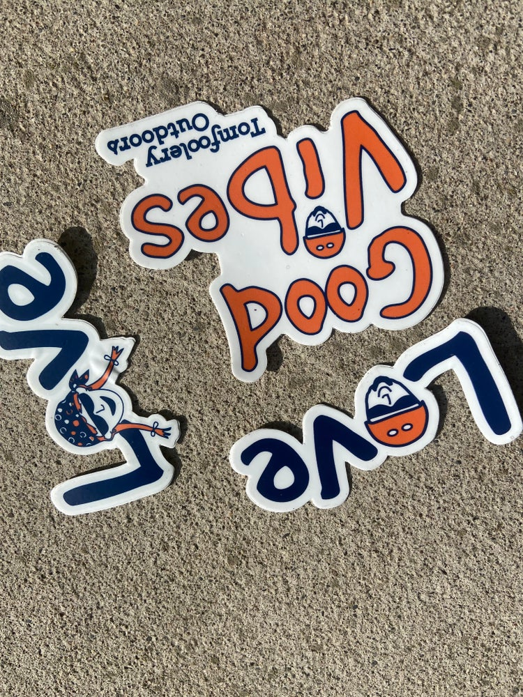 Image of Tomfoolery Outdoors Sticker Collection