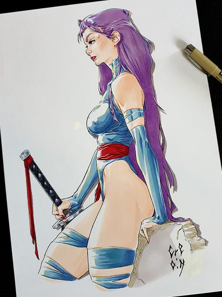 Image of PSYLOCKE - X-MEN