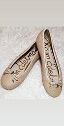 Image 3 of Sam Edleman Raffia Falcon Ballet Flats