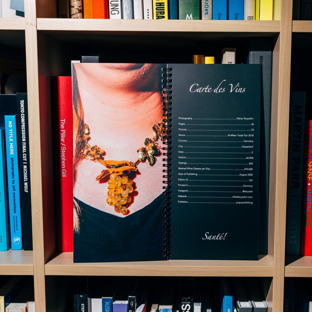 Image of Carte des Vins (2nd Edition)