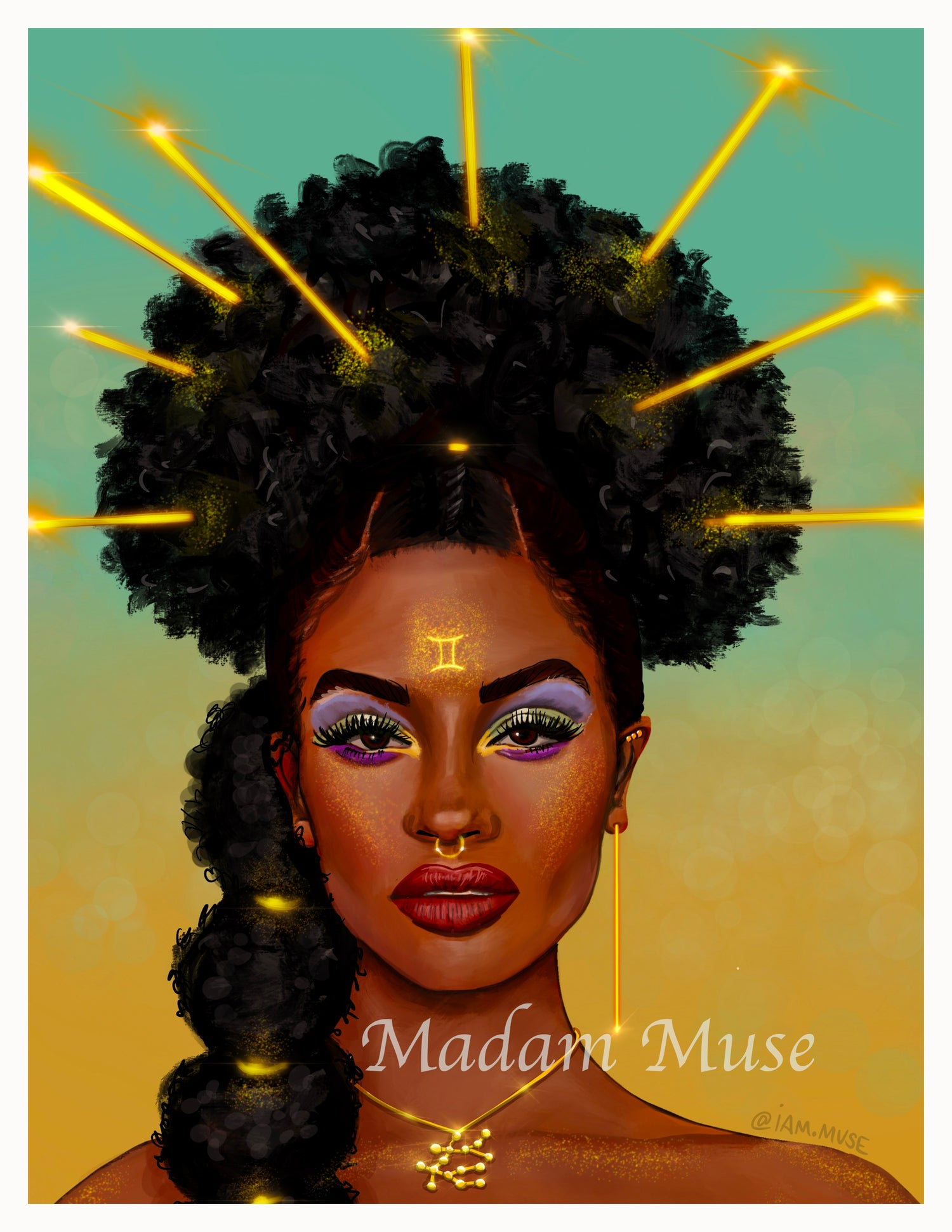 "Image of ""Queen Gemini"" Limited Edition Prints"