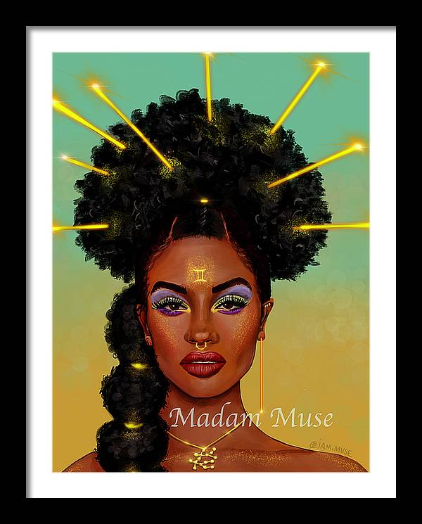 "Image of ""Queen Gemini"" Prints"