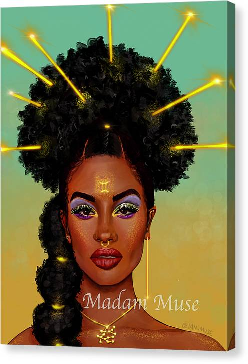 "Image of ""Queen Gemini"" Limited Edition Canvas Prints"