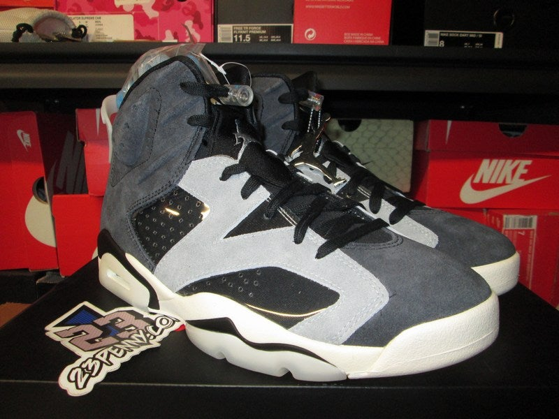 "Image of Air Jordan VI (6) Retro ""Tech Chrome"" WMNS"