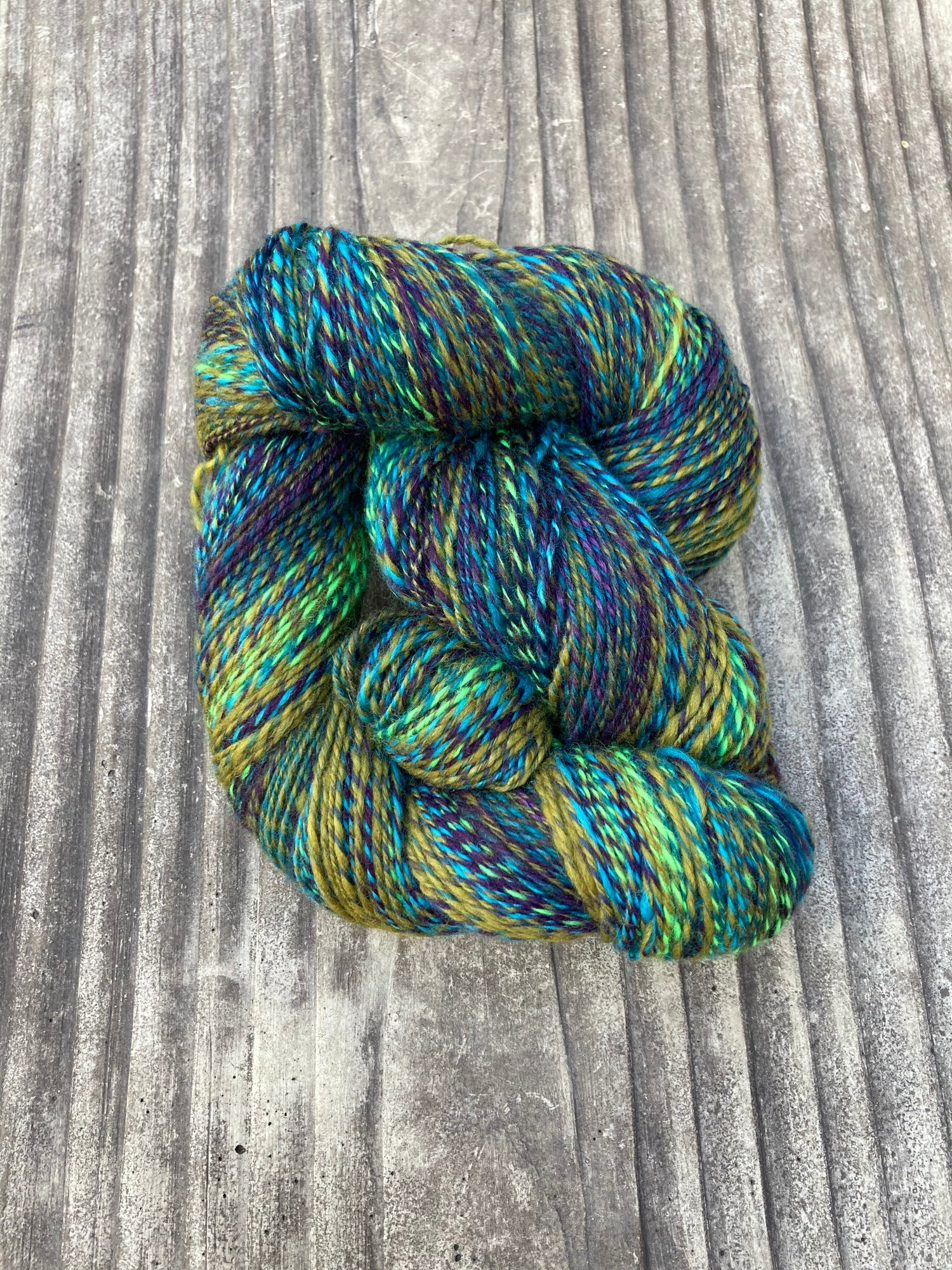 Image of Hummingbird Dance 2 Handspun Yarn