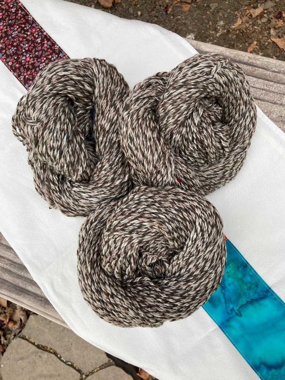 Image of Autumn Naturals Handspun Yarn