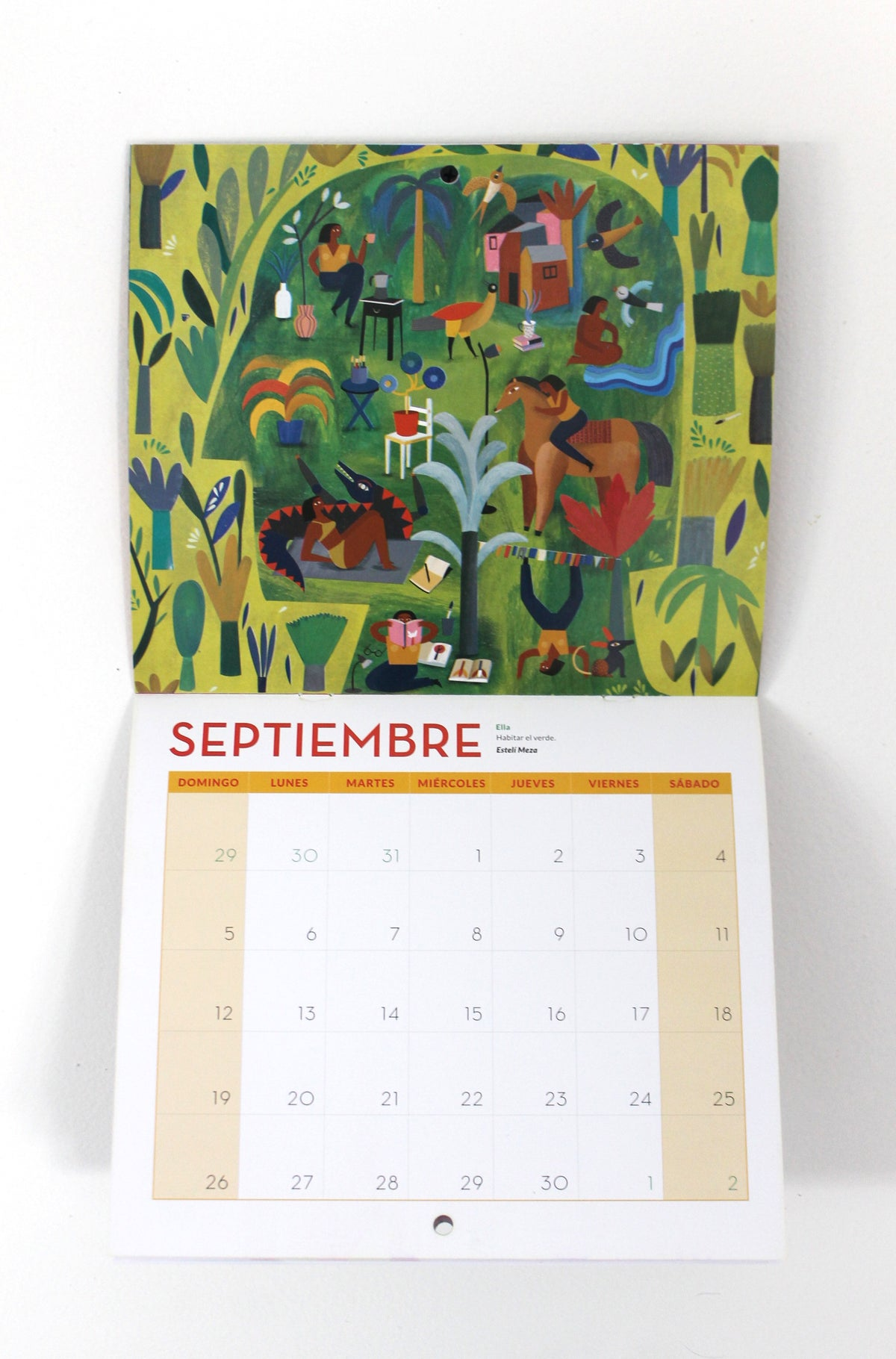 Image of CALENDARIO DE ILUSTRADORAS 2021