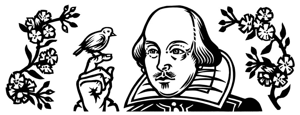 Image of Poetry Print - Shakespeare