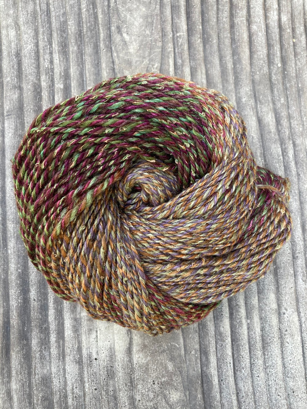 Image of Autumn Leaves Handspun Yarn