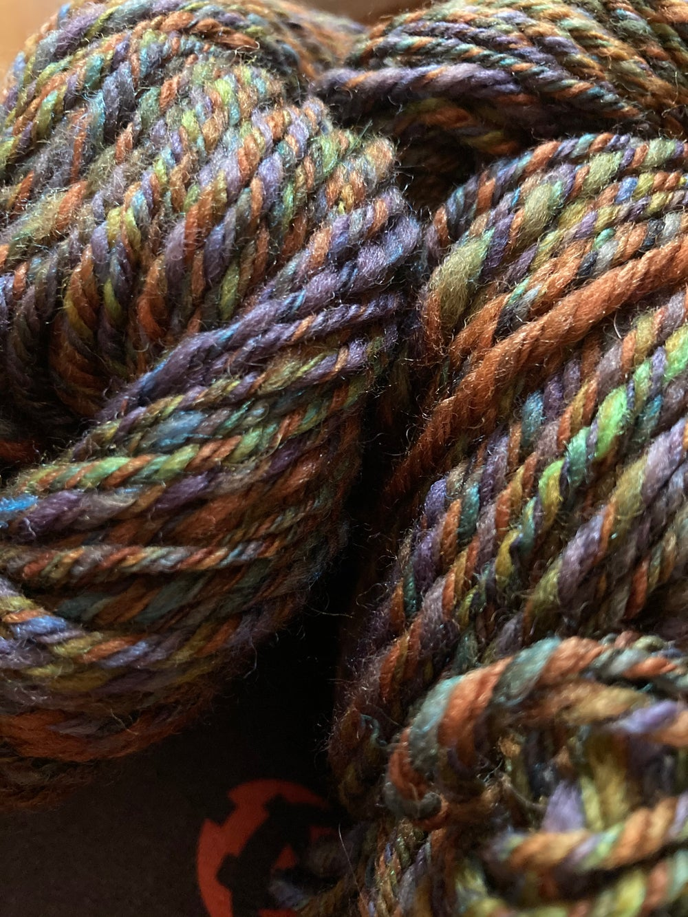 Image of Jeweled Earth Handspun Yarn