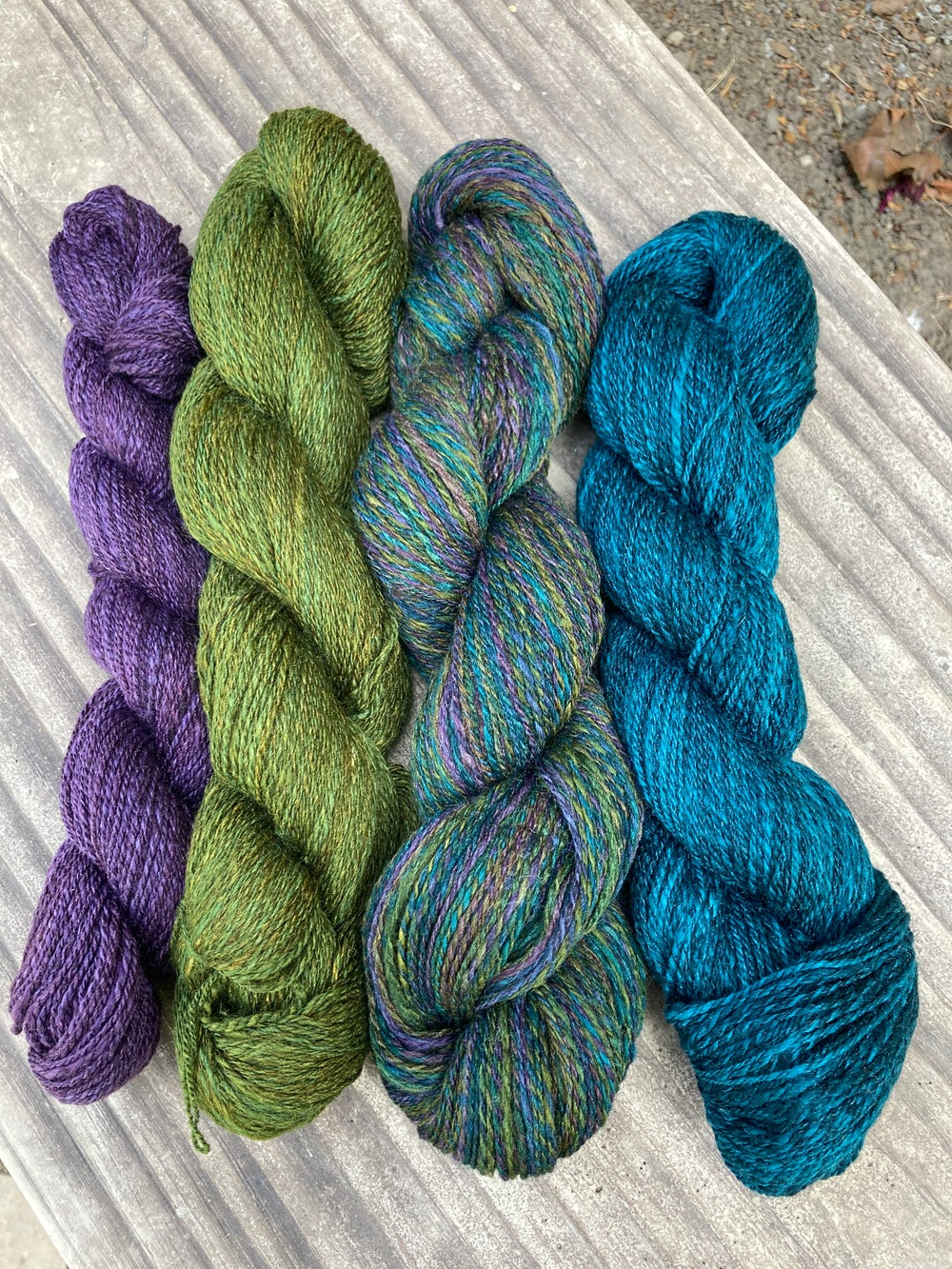 Image of Ocean Nymph Handspun Yarn
