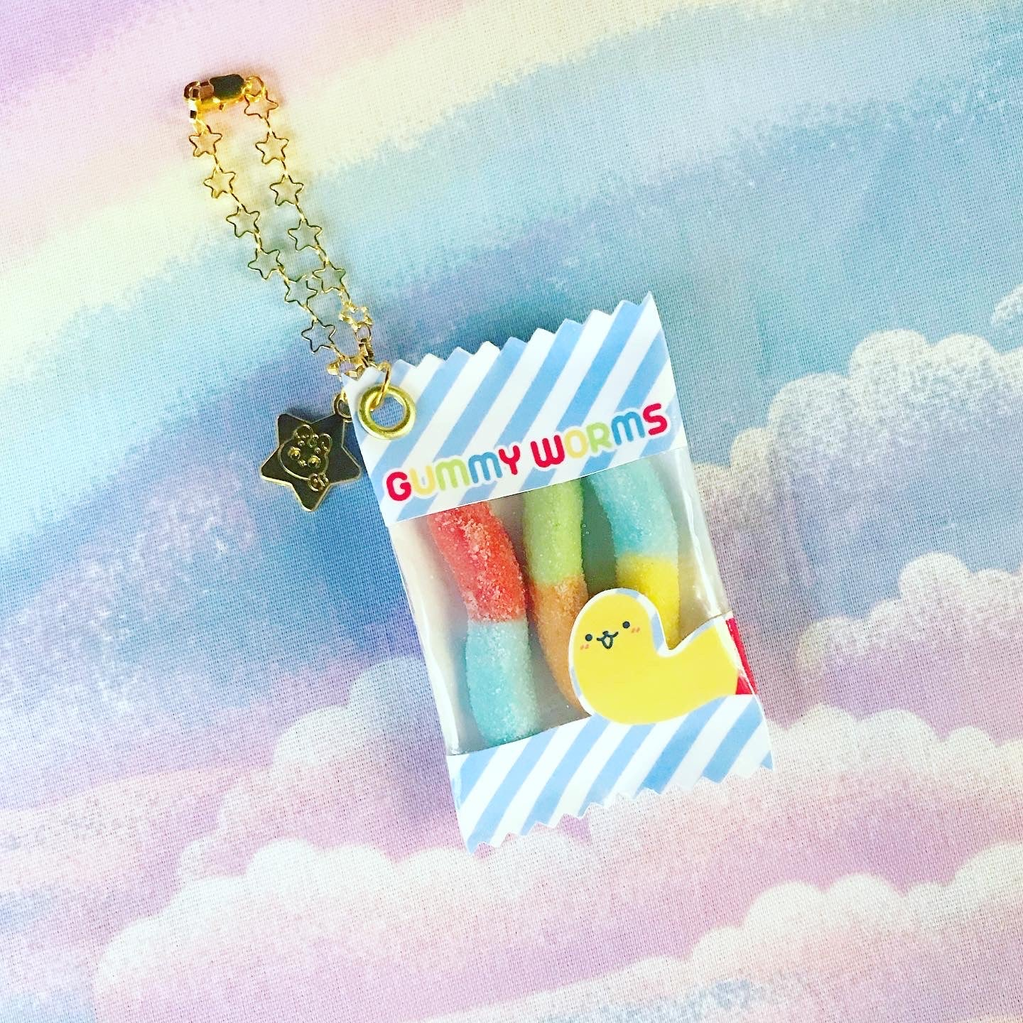 Image of Gummy Worms Charm