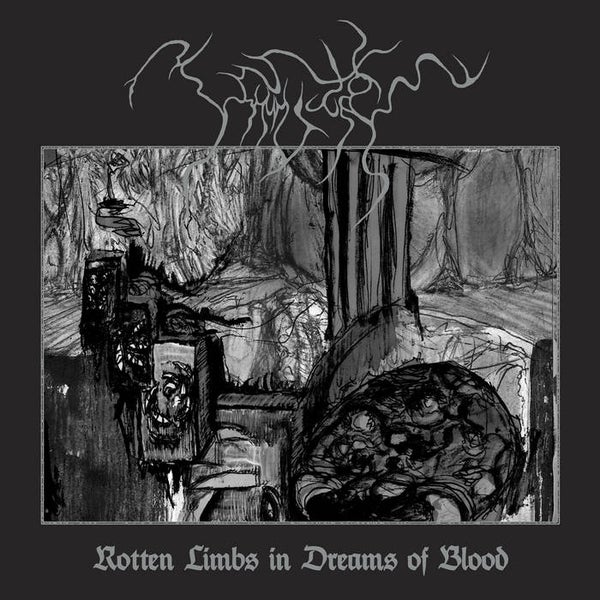 Image of  Uškumgallu- Rotten Limbs in Dreams of Blood LP