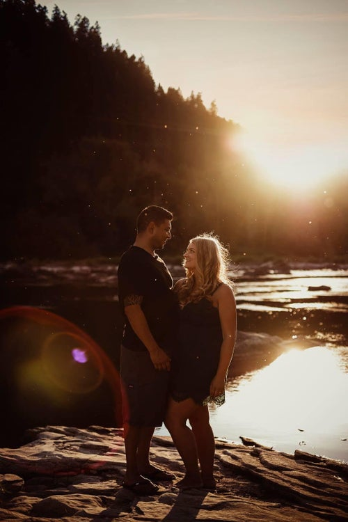 Image of Couples session - Tyler and Ariane