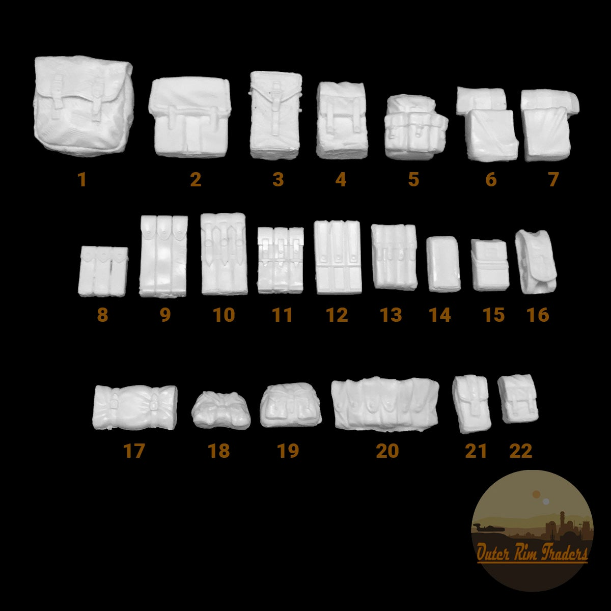 Image of  Pouch Selection