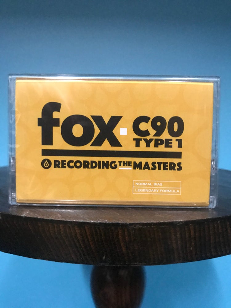 Image of Recording The Masters FOX C90 TYPE 1 Audio Cassettes [Single]