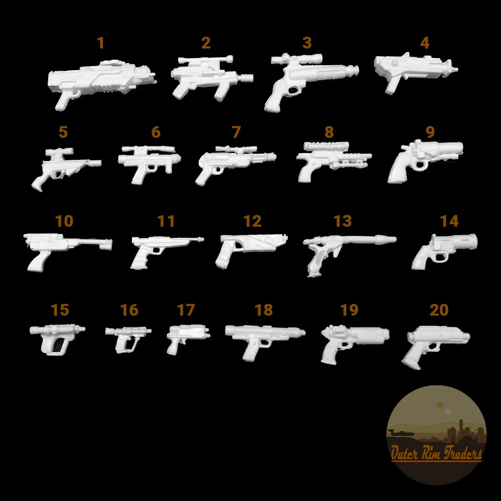Image of Blaster Selection