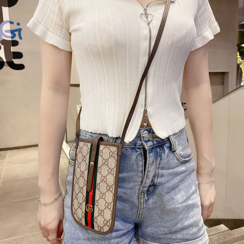 Image of !HOLIDAY ITEM! Luxe Crossbody Phone Case