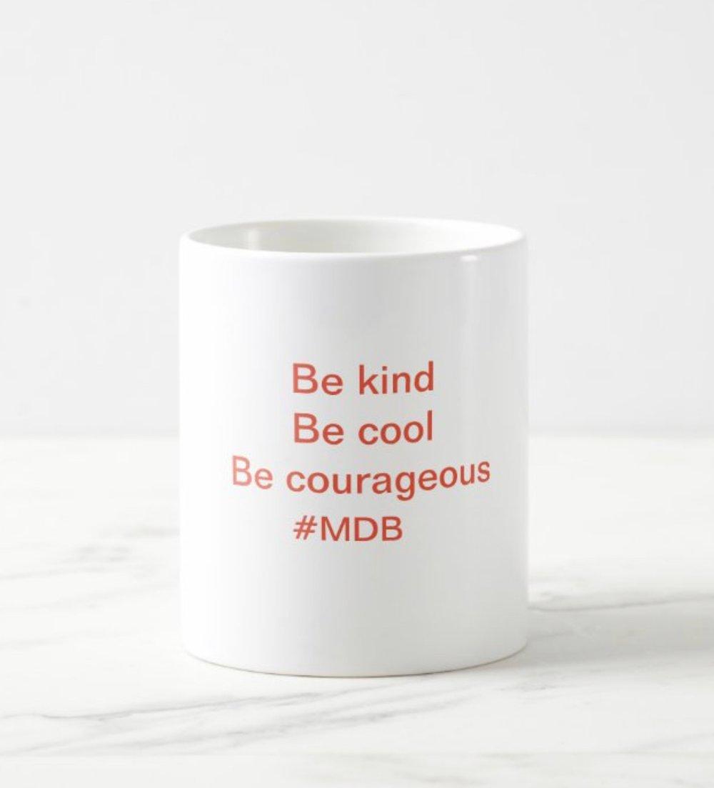 Image of MDB quote mug.