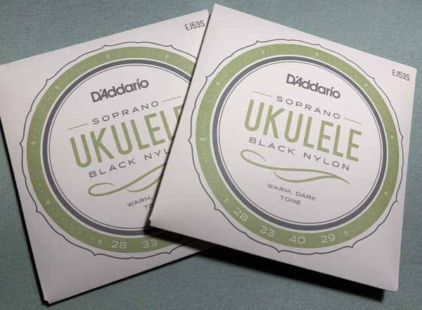 Image of 2 Sets, D'Addario Pro-Arté Black Nylon Soprano Strings