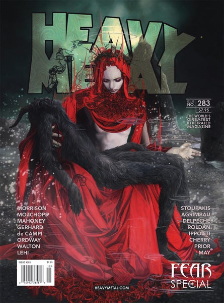 Image of HEAVY METAL Issue #283