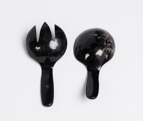 Image of Horn Salad Servers Small