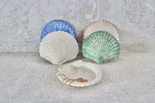 Image of The Salty Sea Air -Shell Jewel Tray - choose your colour